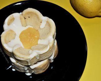 Bizcochitos de limón glaseados