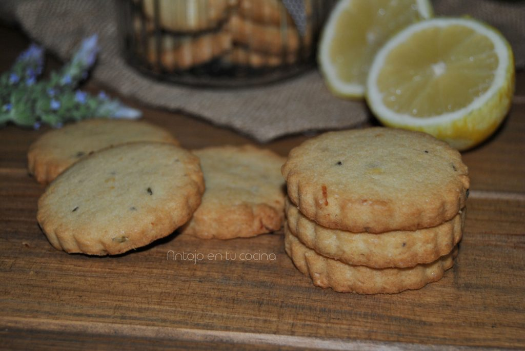 galletas limon lavanda