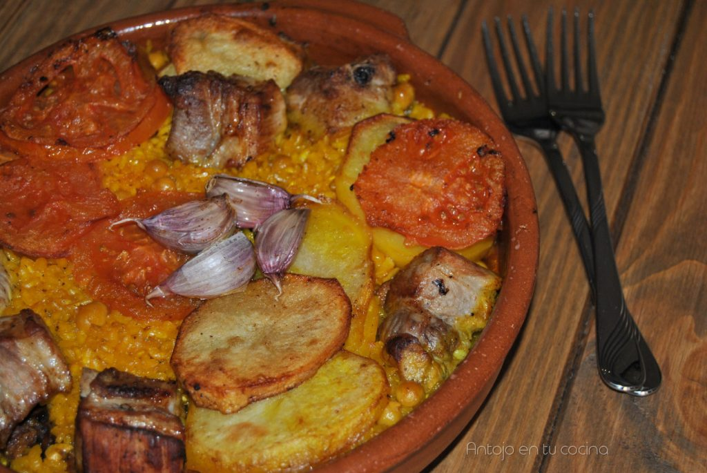 Arroz al horno facil