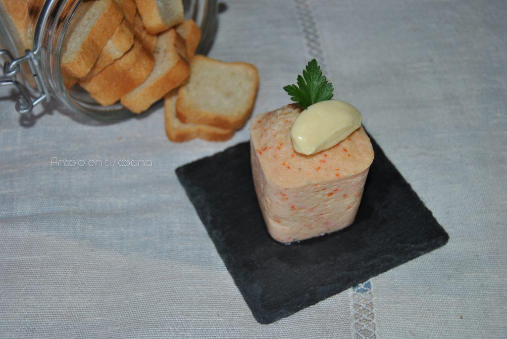 Pastel de surimi fácil en microondas
