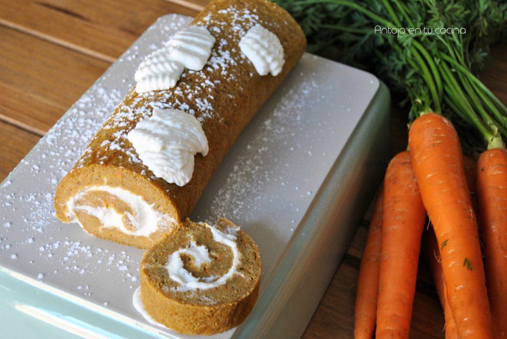 tarta zanahoria facil