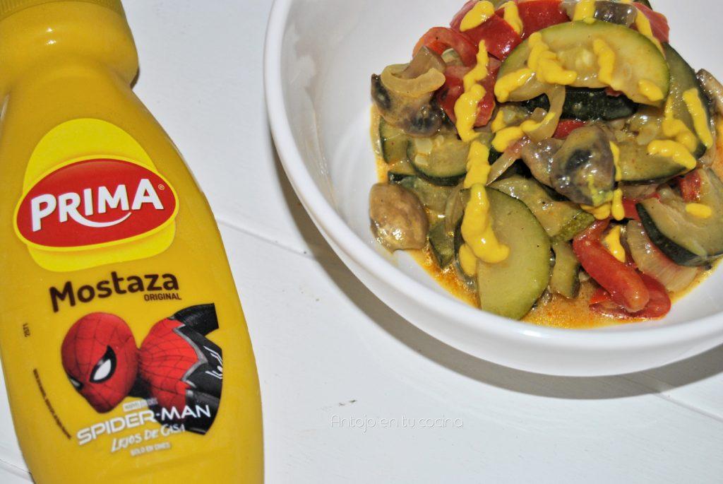 verduras salteadas mostaza 1