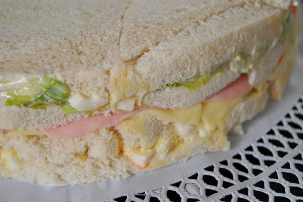 pastel frio pan de molde