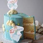 tarta coco y chocolate blanco