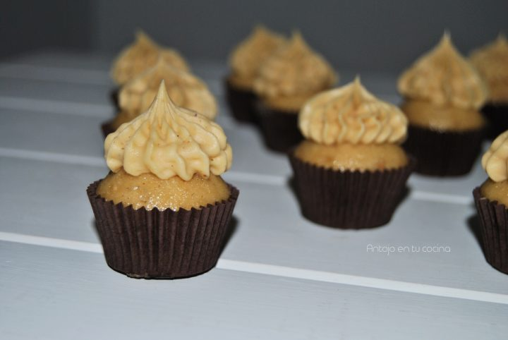 cupcakes mantequilla cacahuete
