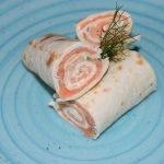 flautas salmon ahumado