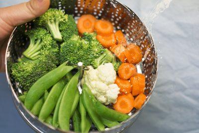 Formas y recetas de preparar verduras al vapor