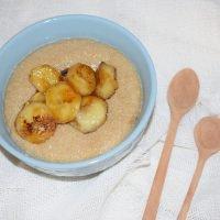 gachas o porridge de amaranto