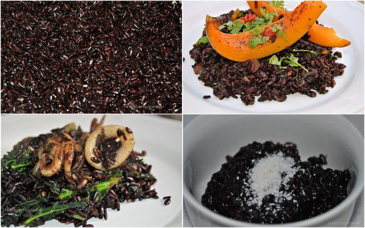 arroz negro o arroz venere