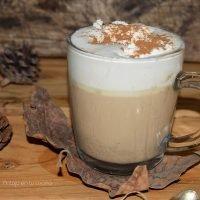 cafe especiado con calabaza