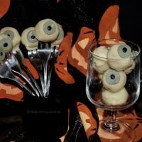 cake pops ojo comestible halloween