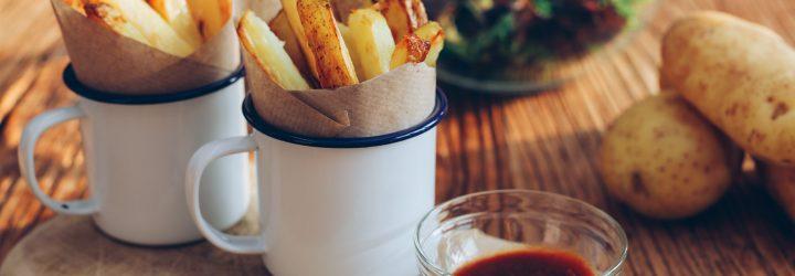 patatas fritas al horno