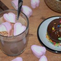 bombas de chocolate con y sin molde