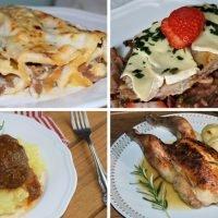 platos principales con carne