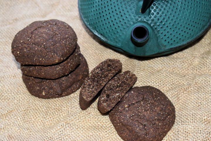 Galletas de avena y algarroba