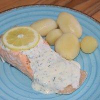 salmon al vapor en microondas