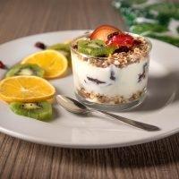 desayuno yogur