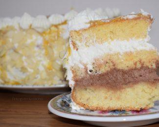 tarta de san marcos o tarta reina facil