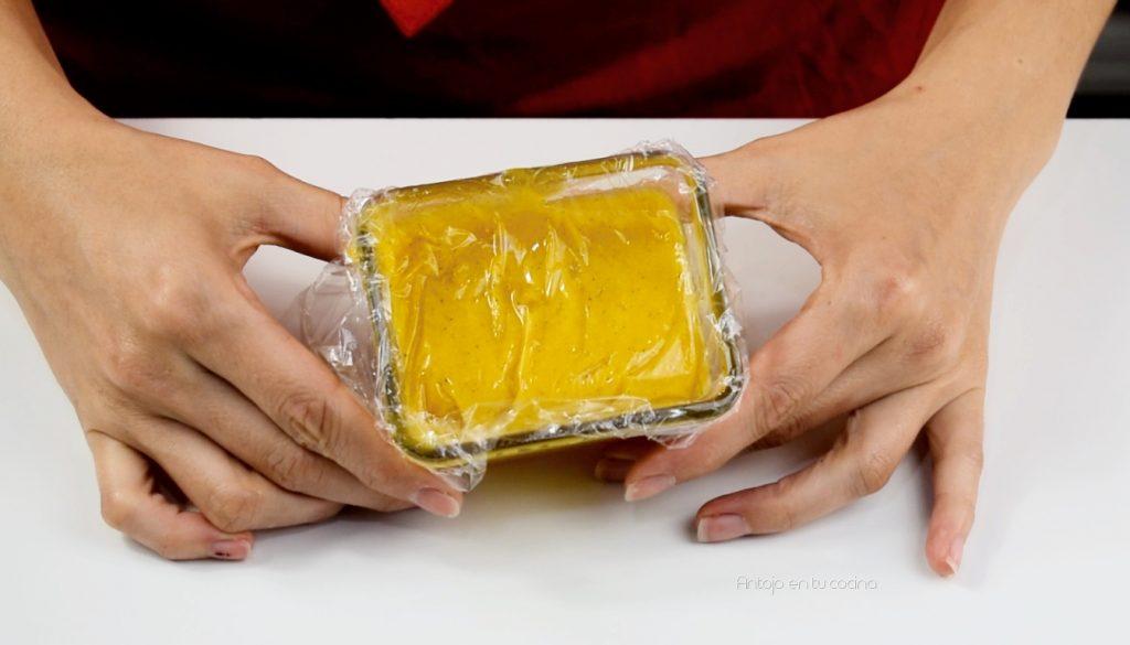 crema de yema