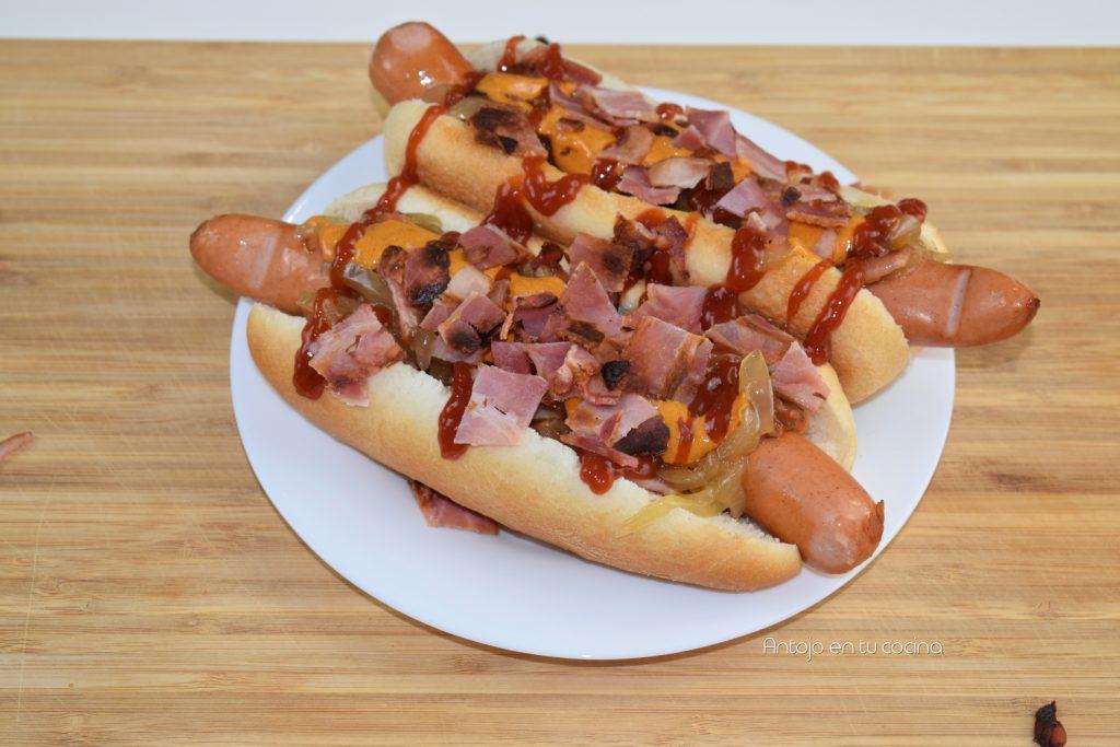 hot dog estilo nueva york en 10 minutos
