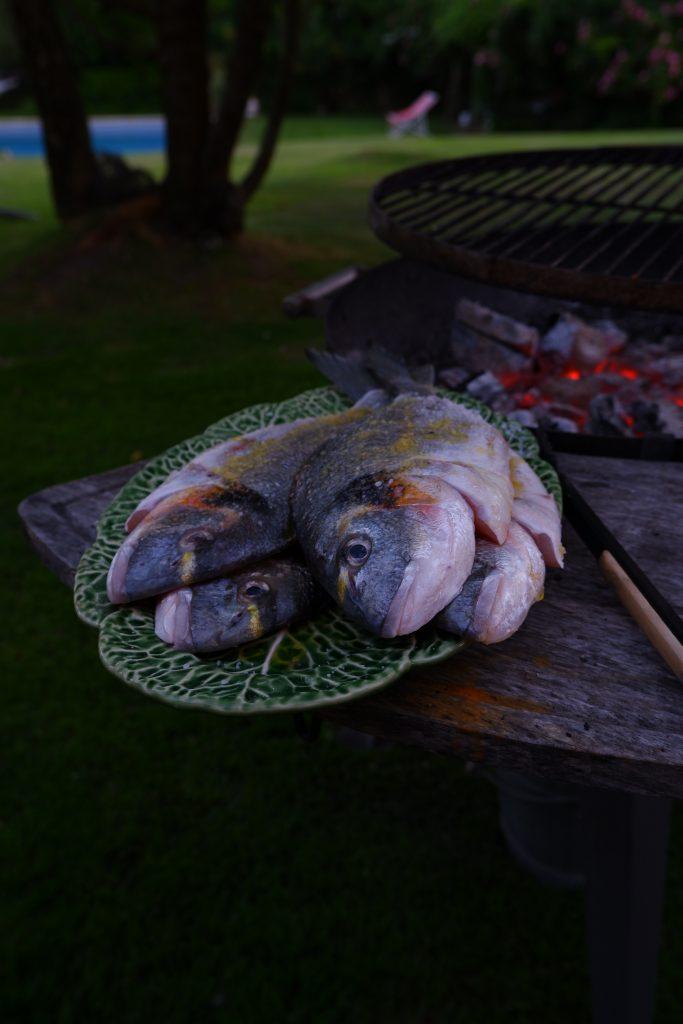 pescado a la parrilla