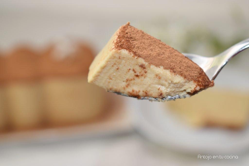 Pastel de CAFÉ SUPER CREMOSO. Fácil, Sin Horno y con pocos ingredientes