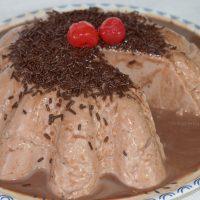 FLAN de MAIZENA y CHOCOLATEcon 3 Ingredientes ¡SIN HORNO ni huevo!