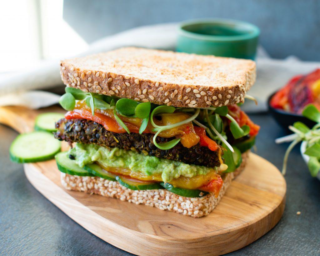 Cómo preparar una buena hamburguesa vegana