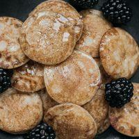 Tortitas de avena y plátano